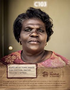 Today in Austin, over 60,000 working households live in substandard, overcrowded or cost-burdensome housing. Door Number 3 reached out to Habitat, helping them build awareness and solicit desperately needed donations. The people featured in the campaign are real. Sadly, their stories are, too.