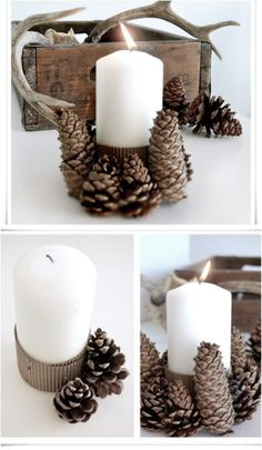 Crafty Candle Holder