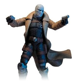 Figura Hush. Batman Arkham City Series 2. 18cm DC Direct Figura articulada de 18cm del personaje de Hush, perteneciente al videojuego Arkham City.