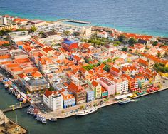 Curacao ...colorful dutch town. Spent every Monday here during ship contract