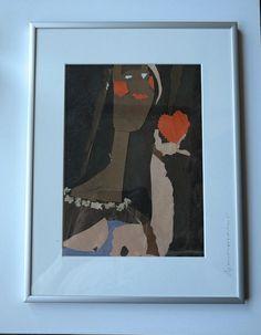 Mi Corazon - Mein Herz  ❤️ Original Collage Unikat von Atelier-Anif auf DaWanda.com