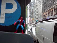 Spidey at Times Square, NYC.