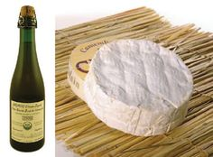 French Cider and Camembert Cheese from Normandy, France