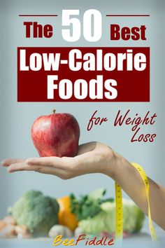 Choosing the right foods for weight loss can be tough, and there's a lot to watch out for if you want to eat healthy AND low-calorie. Some super healthy foods out there, like nuts or whole grains, might even sabotage your weight loss due to their high caloric density! Here, on the other hand, I listed the 50 best healthy foods for a low-calorie diet that won't mess up your weight loss even in larger quantities! Best Low Calorie Foods, Calorie Dense Foods, Low Calorie Recipes, Calorie Diet, Nutrition Tips, Healthy Nutrition, Healthy Foods, Healthy Eating, Healthy Food Choices