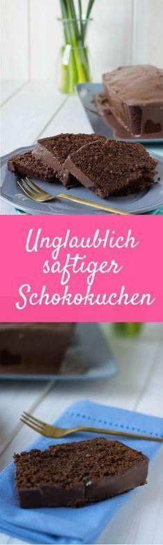 Death by Chocolate - super saftiger Schokoladenkuchen