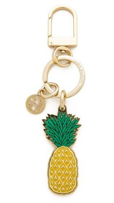Tory Burch Pineapple Keyfob #Shopbop #MakeTheOutfit