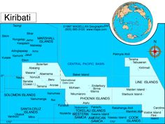 Kiribati Atlas: Maps and Online Resources | Infoplease.com