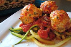 Dandy Dishes: Baked Chicken Meatballs