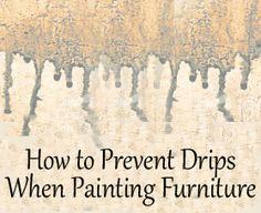 painted furniture. Black Bedroom Furniture Sets. Home Design Ideas