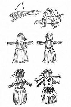 Лялька из соломы