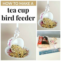 You will love this Teacup Bird Feeders DIY and we have lots of inspiration that you won't want to miss plus a video tutorial to show you how.