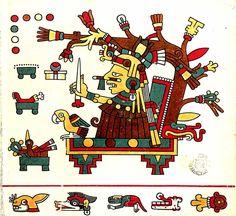 THE LAUD CODEX- Mayas antiguos