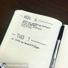 "927 Likes, 4 Comments - Minimalist Bullet Journals (@minimalistbujo) on Instagram: ""Happy Monday! @carrie_does_bujo is keeping it simple with minimal headers and lists, something I've…"""