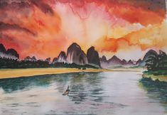 Akvarell kép Painting, Art, Art Background, Painting Art, Kunst, Paintings, Performing Arts, Painted Canvas, Drawings