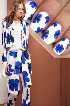 Chloe Resort '15 Nail Art uñas #nail #unhas #unha #nails #unhasdecoradas #nailart #gorgeous #fashion #stylish #lindo #cool #cute #fofo #cat #gato #gatinho #animal#Nail Art Designs #nail art / #nail style / #nail design / #tırnak / #nagel / #clouer / #Auswerfer / #unghie / #爪 / #指甲/ #kuku / #uñas / #नाखून / #ногти / #الأظافر / #ongles / #unhas
