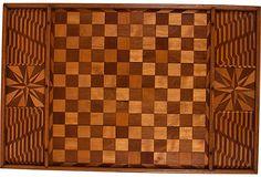 1930s Marquetry Game Board on OneKingsLane.com