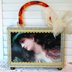 Altered Art CIGAR BOX PURSE PreRaphaelite The by gmPurseanalities, $26.50