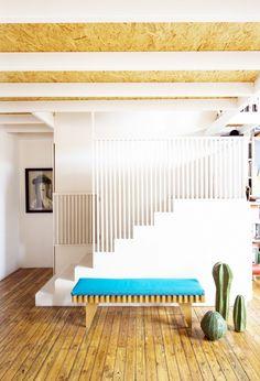 modern banister