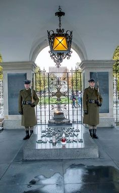 Tomb of The Unknown Soldier, Warsaw Poland