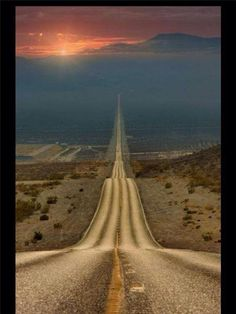 Wanderer, there is no road. The road is made by walking. By walking, one makes the road and, upon glancing back,one sees the path that will never be trod again. Beautiful Roads, Beautiful Places, Amazing Places, Amazing Cars, Foto Poster, Death Valley National Park, Winding Road, Foto Art, Belle Photo