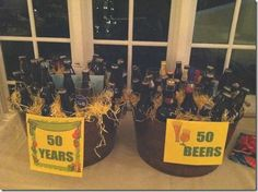 want to do this, but with 40 years, 40 beers