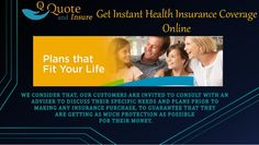 Insurance is a necessity for everyone and this is why it is very important for people to find an instant health insurance quote. you will get immediate quotes for low cost health insurance plans.