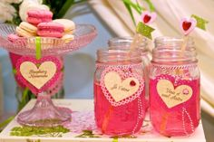 A Paris inspired Valentine's Dessert Table by Angelina's Dream Parties