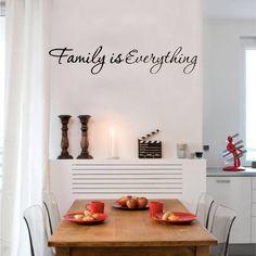 Family is Everything Vinyl Quote Wall Sticker