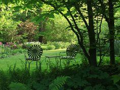 Woodland Garden, Sitting Garden Rick Darke LLC Landenberg, PA