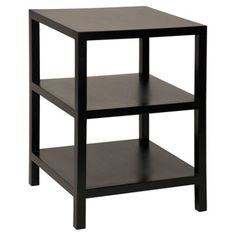 Check out this item at One Kings Lane! Ella Mahogany Side Table