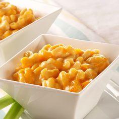 Se te hará agua la boca con esta receta rápida y fácil de mac and cheese. La leche evaporada, hace q...