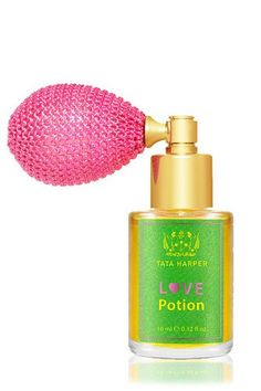 Tata Harper - Love Potion. An aromatic blend of ten of the world's most potent aphrodisiac essential oils to stimulate the senses, heighten sensuality and immediately inspire an inner sense of beauty and confidence. This aromatherapy for love helps focus the energy of your body and mind on feelings of love and warmth while accentuating overall attractiveness. http://www.clementinefields.ca/collections/tata-harper/products/tata-harper-love-potion-perfume