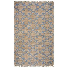 Rizzy Home Whittier Hand-Woven Area Rug 3 Ft. X 5 Ft. Natural Model WHIWR963200550305, Beige