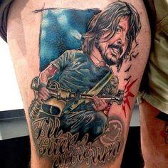 1 - Foo Fighters Fan Tattoos