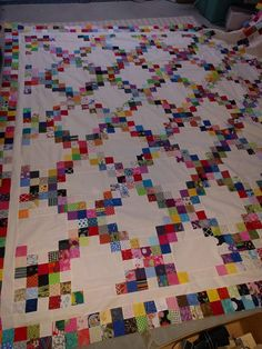 Beate No it's postage stamp quilt