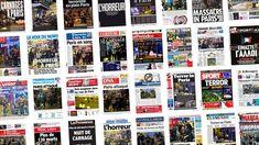 """""""Carnages à Paris"""", """"La guerre en plein Paris"""", """"Massacre in Paris"""", """"Terror en Paris""""… Lesattaques perpétrées vendredi soir à Paris font la une des journaux du monde entier."""