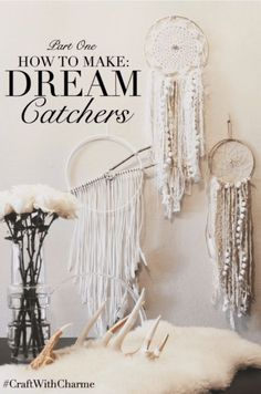 67 trendy Ideas diy dream catcher tutorial boho how to make Diy Tumblr, Los Dreamcatchers, Boho Dreamcatcher, Dreamcatcher Tutorial, How To Make Dreamcatchers, Crafts To Sell, Diy And Crafts, Recycle Crafts, Adult Crafts