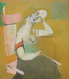 Woman sitting -Willem de Kooning
