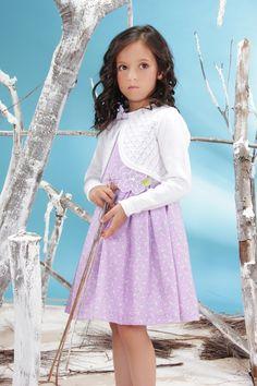 Jessy Franz, pretty dress, alta moda para niña, fashion for girls, style, classy