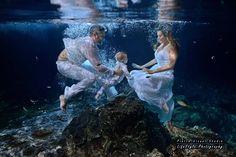 Cenote underwater Trash The Dress - Mexico