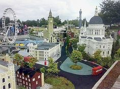 Lego Land Denmark.  The original lego land.