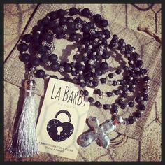 Black Lava Stone... Rock La BarBs!  #labarbs #BBigiotteria #bigiotteria #fattoamano #handmade #instafashion #fashionwoman  Info@labarbs.it