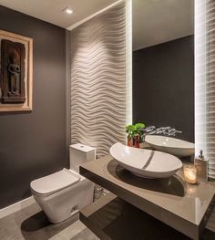 65 Most Popular Small Bathroom Remodel Ideas on a Budget in 2018 – 65 Most Popular Small Bathroom Remodel Ideas on a Budget in 2018 – - Best Dekoration Badezimmer Bad Inspiration, Bathroom Inspiration, Bathroom Ideas, Bathroom Small, Bathroom Remodeling, Mirror Bathroom, Bathroom Wallpaper, Bathroom Vanities, Concrete Bathroom