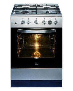 NEW! Amica stainless steel gas cooker
