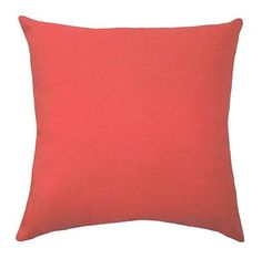 Premier Prints Solid Coral Lumbar or Square Decorative Throw Pillow