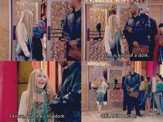 Hannah Montana. Wow, I'm surprised to miss this. This was before she tried to  change her style. It was weird after she tried to change.