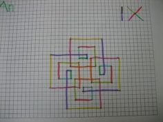 BLOG POST - TIMES TABLES INQUIRY - Spirolaterals -Using this artistic activity students practice and learn their times tables, see patterns in their times tables, inquire into why some times table spirolaterals look similar to others, predict how other times table spirolaterals will look based on the tables they have already done. Take a look at this rich meaningful times tables activity.