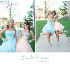 senior picture ideas with friends/ High School Prom idea