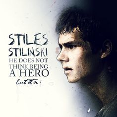 My digital creation of Stiles Stilinski