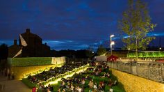 Event venue for hire. Canalside steps, King's Cross